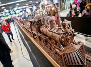 Belgian Chocolate Week showcases chocolate train.