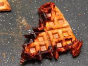 Waffled Pizza pocket