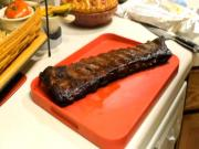 Spicy Buffalo Style Pork Ribs