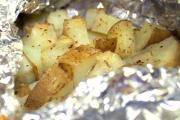 Foil Baked Potatoes