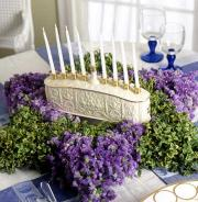 Hanukkah is celebrated in memory of the victory of Maccabees over the Greek and Syrian armies at the temple of Jerusalem.