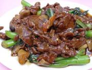Beef With Pak Choi In Oyster Sauce