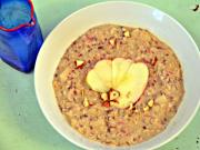 Apple Hazelnut Oatmeal