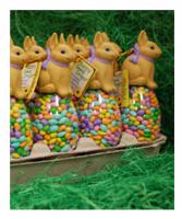 Easter Bunny Egg Tray