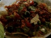 Nachos, A Complete Mexican One-Dish Meal