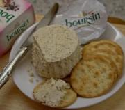 Eating Boursin Cheese!
