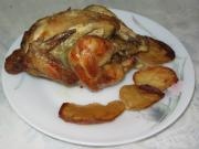 Roast Chicken with Roasted Potatoes