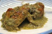 Chicken with Fresh Tomato Dill Sauce