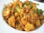 Basic Gobhi Matar (Cauliflower Peas Indian)