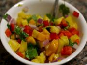 Spicy Mango Pineapple Salsa
