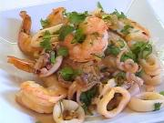 Calamari And Shrimp With Spicy Tamarind Sauce Recipe