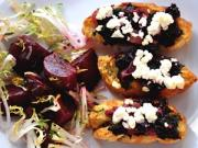 Roasted Beet Crostini Is Good For Elderly!