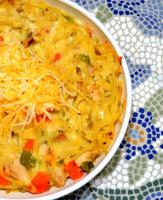 Microwave Chicken Tetrazzini