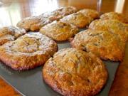 Banana Pineapple Coconut Muffins