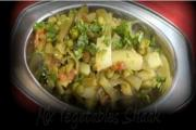 Mixed Vegetable Sabji In The Pressure Cooker