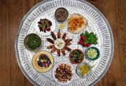 Meze refers to a collection of small dishes, which is served in a large common platter