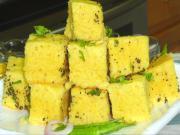 Vateli Dal na Khaman - Savory Sponge Cake