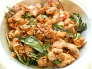 Pan Asian: Basil Chicken (Gai Pad Krapao) -- Thailand