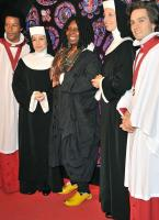 Whoopi Goldberg is going bananas in her shoes.