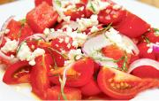 Tomato and Watermelon Summer Salad