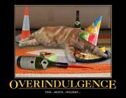 Overindulgence is bad for your lifespan