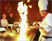 Becoming a Hibachi chef requires skill and efficiency