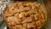 Apple and Blackberry Lattice Pie