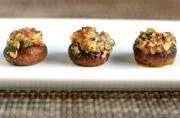 Provencal Stuffed Mushrooms