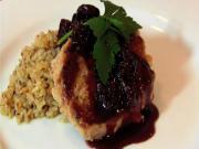 Pork Tenderloin with Cherry Port Sauce