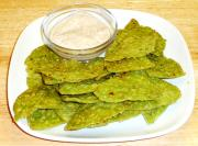 Spinach Crackers