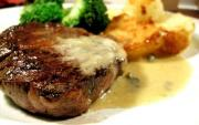 Steak with Mustard and Herbs