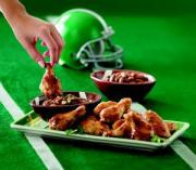 Super Bowl weekend to gulp down 1.23 billion chicken wings.
