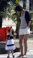Katie Holmes with her daughter