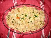 Sesame Pilaf with Fennel