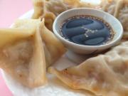 Kimchi & Sausage Potstickers