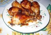 Barbecued Turkey Drumsticks