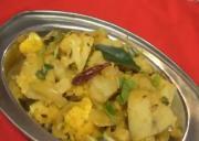 Aloo Gobi Masala Fry - Cauliflower & Potato Fry