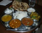 A Sample Punjabi Thali