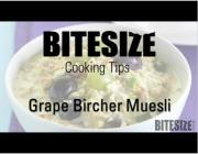 Grape Bircher Muesli