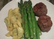 Paleo Beef Patty with Vegetables