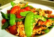 South Seas Rice & Snow Peas