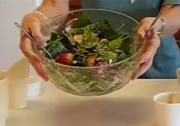 Betty's Zesty Strawberry-Blueberry Spinach Salad