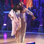 Ricki Lake and Derek Hough Dancing The Rumba