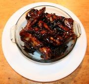 Plum Glazed Pork Ribs