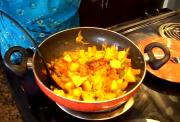 Bell Peppers Masala / Capsicum Masala / Potatoes and Peppers Dish