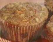 Carrot and Walnut Muffin
