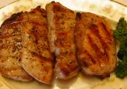 Perfect Grilled Boneless Pork Chops