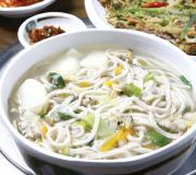 Kalguksu is a rich and filling noodle soup from Korea