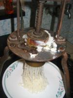 Homemade Rice Sevai (Rice Noodles)