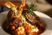 Southern Lamb Shank Dinner